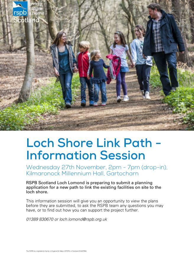 RSPB Information session 27 November 2019