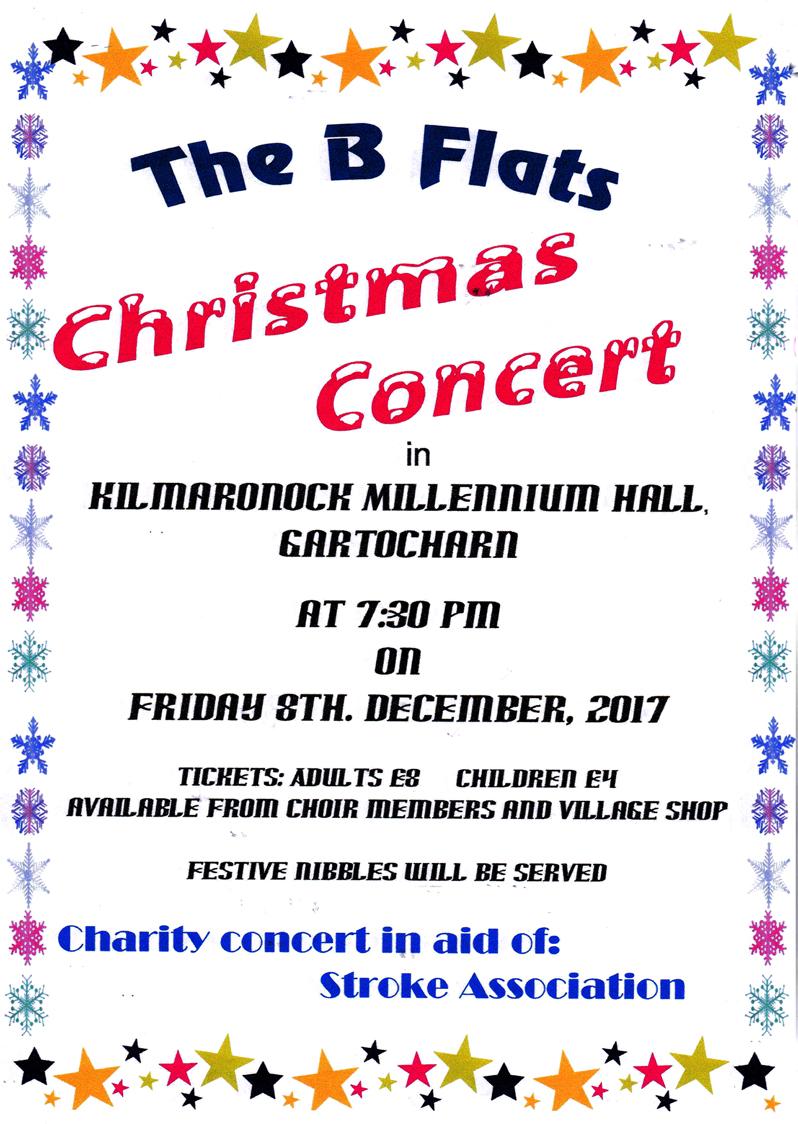 B Flats Christmas Concert